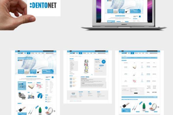 Dentonet Corporate Design und Webseite