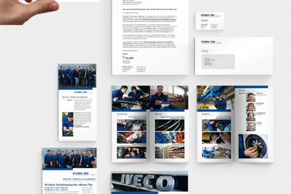 Fürk AG Corporate Design