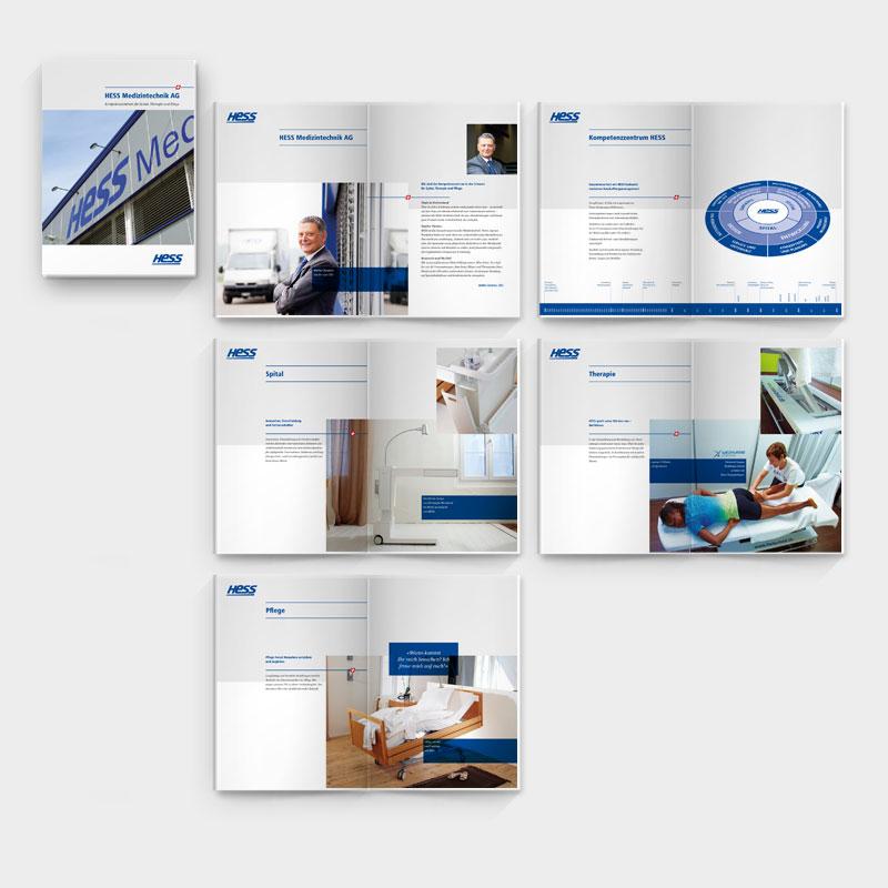Hess Medizintechnik Broschüre
