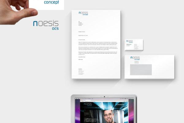 Noesis Concept Corporate Design und Webseite