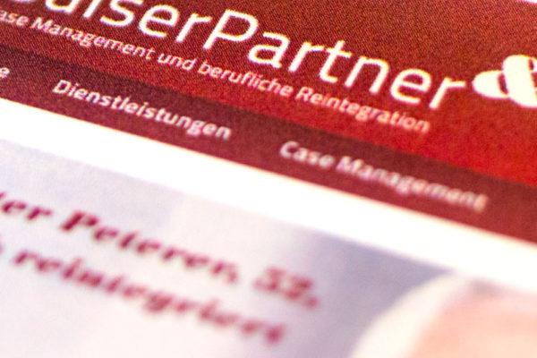 Sulser & Partner Webseite